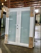 Hurricane Impact French Double Doors. Category 5 Resistant 72x80