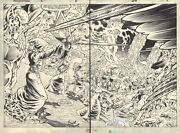 Marvel Fanfare 26 Pgs. 8 And 9 Weirdworld The Goblin Spree Dps By Pat Broderick