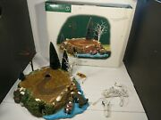 Dept 56 Village Accessory Sounds Of The North Woods 53025 Works Amazing