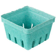 500 Case 1 Pintgreen Berry Produce Basket Molded Pulp Cardboard Container