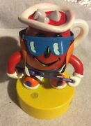 Dancinand039 Kool Aid Man Pitcher With Guitar - Sound Activated Mail Away 1980s -nib