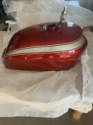 Honda750 K0 K1 K2 Candy Ruby Red Nos Gas Tank With Nos Gas Cap