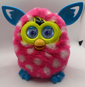 Furby Boom Pink With White Spots And Blue Ears By Hasbro No Box Works Great