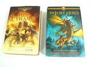 Rick Riordan Books Lot Of 2 The Red Pyramid And The Lost Hero Hardcover