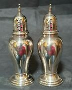 International Sterling Silver Salt And Pepper - Lord Saybrook - 5 Tall
