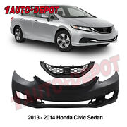 Primed Rear Bumper Cover Replacement For 2009-2010 Toyota Corolla To1100264