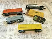 American Flyer Assorted Cars 4 And 706 Uncoupler