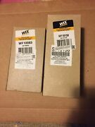 Wf10158 And Wf10083 Wix Fuel Filters Used On John Deere Backhoes