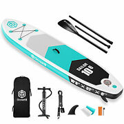 Goosehill Sailor Inflatable Stand Up Paddle Board 10and039 Long 32