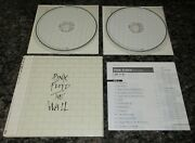Pink Floyd The Wall Japan Promo 2 X Cd Mini Lp Card Sleeve Cd More Listed