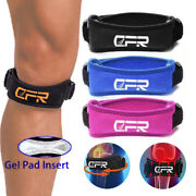 Knee Support Patella Stabilizer Strap Band Tendon Brace Pain Sports Gym Running