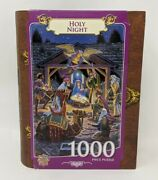 Holy Night Puzzle1000 Piece Masterpieces Jigsaw Book Box Brand New