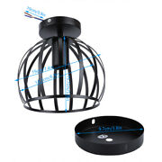 Durable Ceiling Light Shade Heat Resistance Pendant Lamp Shade Iron Material