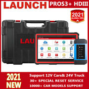 Launch X431 Pro3s + Hdiii Obd2 Scanner Bidirectional Diagnostic Tool All Systems