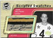 Jean Beliveau 2005-06 Ud The Cup Scripted Swatch Vintage Nhl All Star Game Auto.