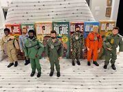 Complete Gi Joe Adventure Team Collectorand039s Club Set Of 7 Joes Wow