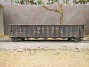 Ho Scale Custom Weathered Union Pacific Up 34000 Ortner 5-bay Hopper
