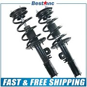 Front Pair Left And Right 2 Complete Strut Assembly For 2013-2018 Ford Taurus