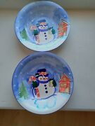 Snow Mean Plates By Emeral