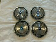 1973-1987 Chevy Nos Square Body Hubcaps C10 Pickup Truck Wheel Covers Bowtie