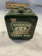 Vintage General Bell Telephone First Aid Kit-new With All Contents