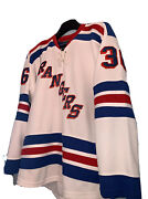 Nhl Mens New York Rangers Vintage Ccm Jersey Sz 50 Zuccarello 36 Preowned