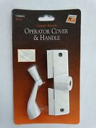 Andersen Casement Window Operator Cover And Handle /crank With Screws White