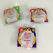 Mcdonalds Happy Meal Toys Animaniacs Set Of 3 In Package 1994 Vintage