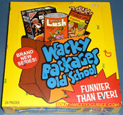 Topps Wacky Packages Old School 2 2010 Factory Sealed +random Sketch +inserts
