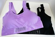 Juicy Couture Seamless Bra Set Of 2 Size 3x Lavender
