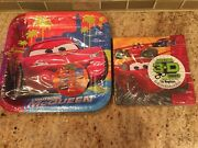 Disney Cars 2 Movie 3d 8 Plates And 16 Napkins Birthday Party Supplies Decorations