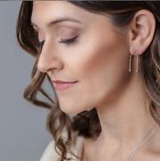Mobile Earrings 14k Yellow White Rose Gold Platinum Featured National Magazines