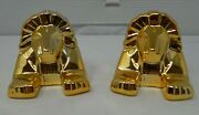 Rare Vintage From The 80s Mgm Grand Hotel Casino Las Vegas Salt And Pepper Set