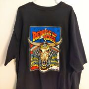 """Vintage 90s 1996 Harley Owners Group T Tee Shirt """"hog"""" Size L Austin Rallies 3xl"""