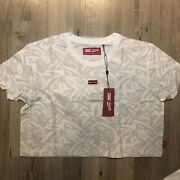 Kith Women Coca Cola Coke L/s Cropped Rugby Small S New Dead Stock
