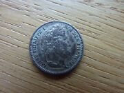 1847a France Louis Philippe I 25 Cents Silver Coin Ref4a