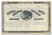 Saint Paul And Sioux City Railroad Company Stock Certificate