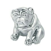 Rare Sterling Silver Dunhill Bulldog Paperweight