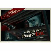 Orson Welland039s A Touch Of Evil Screen Red Variant Print Art 60 36 X 24
