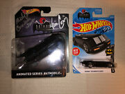 Hot Wheels Batman Animated Series Signed Kevin Conroy Ty Templeton 2 Car Lot