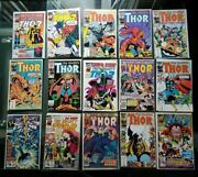 Marvel The Mighty Thor Comic Lot Vintage Bronze Age Excellent Condition Rare