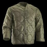 New Military M-65 Field Jacket Liner Quilted Coat Liner Foliage Green X Large