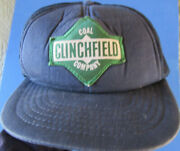 Vintage Clinchfield Coal Mining Company Mine Truckers Snap Back Patch Hat Cap
