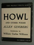 Allen Ginsberg Howl And Other Poems 1959/1980 Pb 30th Printing City Lights Books