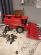 New Case 2388 Combine Ih Axial Flow Red Toy Tractor 1/16 No Signature Fg Zsm914