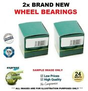 2x Front Axle Wheel Bearings For Bmw X3 F25 Xdrive 20d 2010-2014