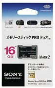 Sony Memory Stick Pro Duo 16gb Ms-mt16g Card Camera Game Media Japan Dhl New