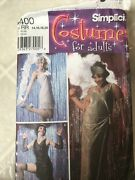 Simplicity Pattern Costume 5400 Plus Size Flapper Gilded Age Gatsby 14 16 18 20