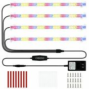 Led Plant Grow Light 4 Strips Full Spectrum Red Blue Sunlike Indoor Growing L...
