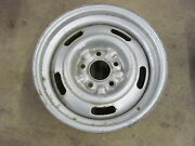 1972 Chevy Monte Carlo 15x7 Rally Wheel Rim Dated January Ss 454 K-1-2-1-18-fw